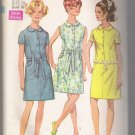 Misses' Dress Simplicity #8029 Sewing Pattern