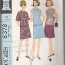 Misses, Teen and Pre-Teen Dress in Three Versions, McCall's #8378 Sewing Pattern