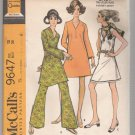 Misses' and Junior Dress in Two Versions and Pants McCall's #9647 Sewing Pattern