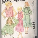 Misses' Top and Skirt McCall's #6377 Sewing Pattern
