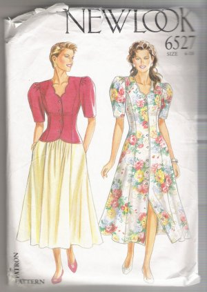 Incomplete - Dress, Jacket and Skirt New Look #6527 Sewing Pattern