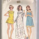 Misses' and Women's Nightgown Simplicity #5030 Sewing Pattern