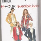 Misses' Reversible Jackets Simplicity #7109 Sewing Pattern