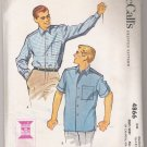 Men's Shirt McCall's #4866 Sewing Pattern