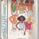 Incomplete Misses' Set of Tops McCall's #6069 Sewing Pattern