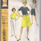 Misses' Coordinates:   Pants or Shorts, Skirt and Blouse McCall's #8177 Sewing Pattern