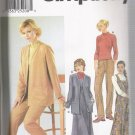 Misses' Dress, Cardigan, Pants and Top Simplicity #9874 Sewing Pattern