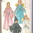 Child's & Girls' Angel, Fairy, Witch & Princess Costumes Simplicity #9052 Sewing Pattern
