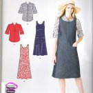 Misses' Jumper and Shirt Simplicity #A2129 Sewing Pattern