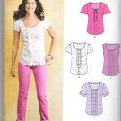 Misses' Blouse Simplicity #E6104 Sewing Pattern