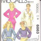 Misses' Tops McCall's #6863 Sewing Pattern
