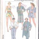 Misses Pants or Shorts, Shirt or Shirtdress & Linted Top Simplicity #7380 Sewing Pattern