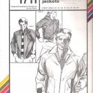 Men's Action Jackets Stretch & Sew #1711 Master Pattern