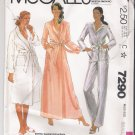 Misses' Robe and Pajamas McCall's #7290 Sewing Pattern