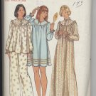 Misses' Pajama & Nightgown Butterick #5745 Sewing Pattern