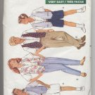 Girls'/Boys' Vest, Shirt, Skirt, Shorts & Panes Butterick #4764 Sewing Pattern