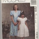 Children's and Girls' Anniversary Dress McCall's #P213 Sewing Pattern