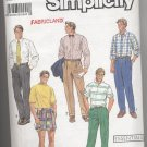 Men's Pants or Shorts Simplcity #7137 Sewing Pattern