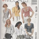 Incomplete:  Misses' Blouses McCall's #4776 Sewing Pattern
