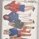 Children's & Girls' Jacket Butterick #6804 Sewing Pattern