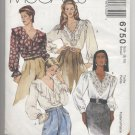 Misses' Blouses McCall's #6750 Sewing Pattern