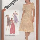Misses' Fitted Dress Simplicity #5096 Sewing Pattern