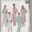 Misses' Sleepwear McCall's #8525 Sewing Pattern