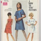 Young Junior / Teens' and Misses' Dress Simplicity #8012 Sewing Pattern