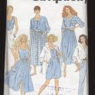 Misses' Pants or Shorts, Skirt, Top and Shirt Simplicity #7894 Sewing Pattern