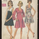 Junior Petites' and Misses' Dress Simplicity #8243 Sewing Pattern