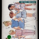 Toddlers' / Children's Top, Skirt, Shorts & Pants Butterick #6262 Sewing Pattern