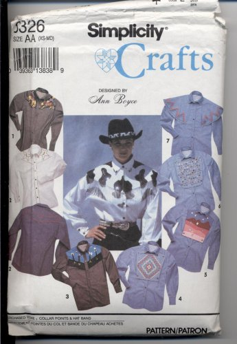 Misses�, Men�s or Teen Boys� Shirt, Simplicity #8326 Sewing Pattern
