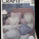 Incomplete:  Decorative Pillows, McCall's #2630 Sewing Pattern