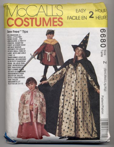 Magician, Witch, Little Red Riding Hood, Grim Reaper, Princess, Robin Hood Costumes