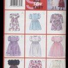 Children's / Girls' Dress Butterick #5225 Sewing Pattern