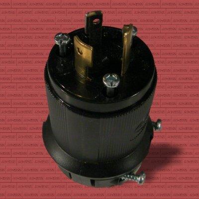 Hubbell HBL2311 M15 Twist-Lock Plug L5-20 20A 125V
