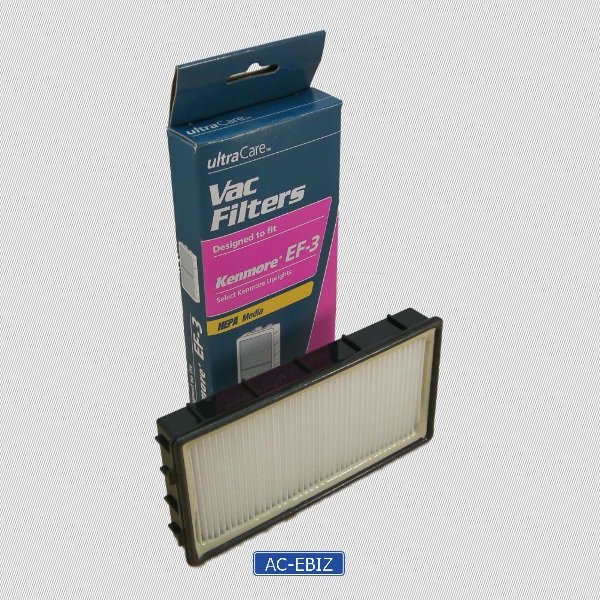 UltraCare Kenmore EF-3 HEPA Media Vac Filter * Lot of 2