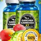 Garcinia Cambogia XT w/African Mango, Acai Berry,Green Tea -SALE 75% OFF (60) capsules- -(2 bottles)