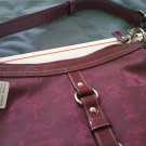 COACH 14036 CHELSEA PLUM HORSE CARRIAGE DUFFLE PURSE