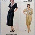 Vogue Designer Ralph Lauren Wrap Dress Misses Size 12 Uncut Sewing Pattern 1135