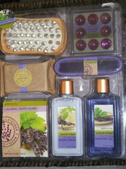 Aromatherapy Bath Set Purple Sealed