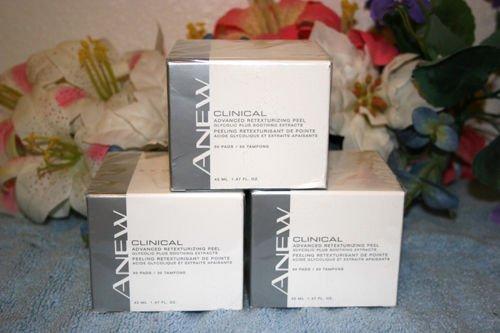 Avon Clinical Advanced Retexturizing Peel 30 Pads Seald