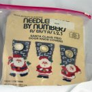 Needlepoint by Numbers easy as 123 Santa 3 Door Hangers