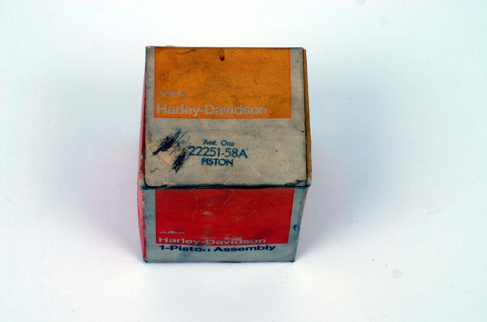 HARLEY PISTON ONLY VINTAGE XL/XLH/XLCH .020 O.S.