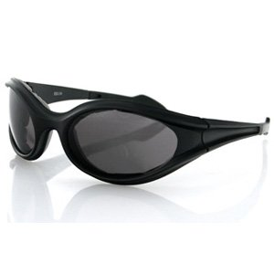 BOBSTER FOAMERZ SUNGLASS SMOKED ANTI-FOG LENS BLACK FRA