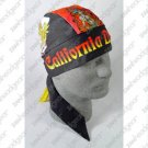 ZAN FLYDANNA DELUX HEAD WRAP/DOO RAG CALIFORNIA DREAMIN