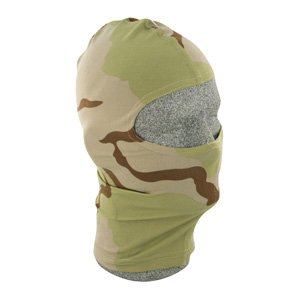 ZAN HEADGEAR NYLON BALACLAVA 3 COLOR DESERT CAMO