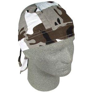 ZAN FLYDANNA HEADWRAP/DOO RAG/SKULL CAP URBAN CAMO