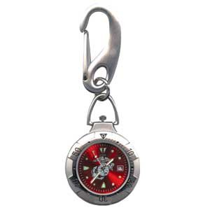 RAM WATCHES BELT WATCH US MARINE/MARINES RED FACE
