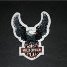 "HARLEY DAVIDSON CYCLES DECAL 6"" HIGH X 4.5"" WIDE"